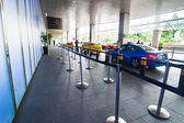 Singapore. Taxi stop at business district Marina Bay Sands — Stock Photo