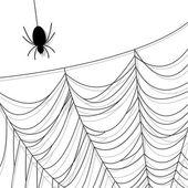 Spinnenweb — Stockvector