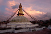 Boudhanath Stupa. Kathmandu, Napal — Stock Photo