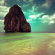 Tropical beach landscape. Thailand — Stock Photo