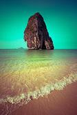 Tropical beach landscape. Thailand — Stock Photo