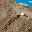Buddhist monastery Namgyal Tsemo. Leh. India — Stock Photo