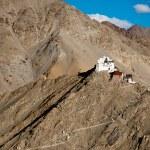 Buddhist monastery Namgyal Tsemo. Leh. India — Stock Photo