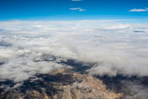 Himalaya mountains under clouds. India — Stock Photo