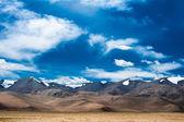 Himalaya high mountain landscape panorama. India — Stok fotoğraf