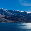 Morning panorama at Tso Moriri Lake. India — Stock Photo