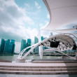 Stock Photo: Urban landscape of Singapore