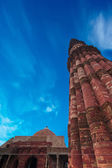 Minaret Qutub Minar. India — Stockfoto