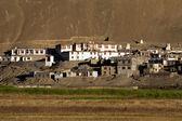 Himalaya Dağları, küçük Tibet Köyü — Stok fotoğraf