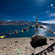 View at Tso Moriri Lake, India — Stock Photo