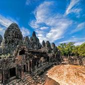 Bayon temple at Angkor Wat complex, Siem Reap, Cambodia — Photo