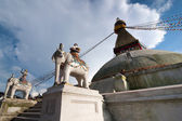 Buddhist Shrine Boudhanath — Stock Photo