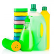 House cleaning supplies — Stock Photo #7954741
