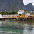 Wooden house at Lofoten archipelago — Stock Photo #14733177