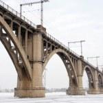 Winter bridge — Stock Photo #1650794