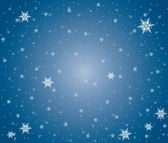 Snowflakes background — 图库矢量图片