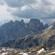 Stock Photo: Tre Cime di Lavaredo