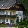 Traditional house, bavaria - Stock Photo