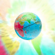 Abstract globe planet — Stock Photo
