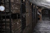 古いワインセラー — ストック写真