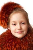 Red fur — Zdjęcie stockowe