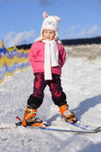 Young skier 2 — Stock Photo