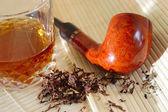 Whisky i rury — Zdjęcie stockowe