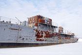 övergivna fartyg — Stockfoto
