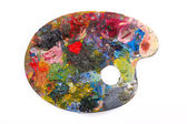 Art palette — Stock Photo