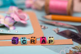 Scrapbooking  — Stock Photo