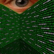 Cyber Stalking Spyware Eye — Stock Photo