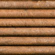 Stock Photo: Horizontal rusty pipe background seamlessly tileable