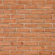 Stock Photo: Red brick background texture seamlessly tileable