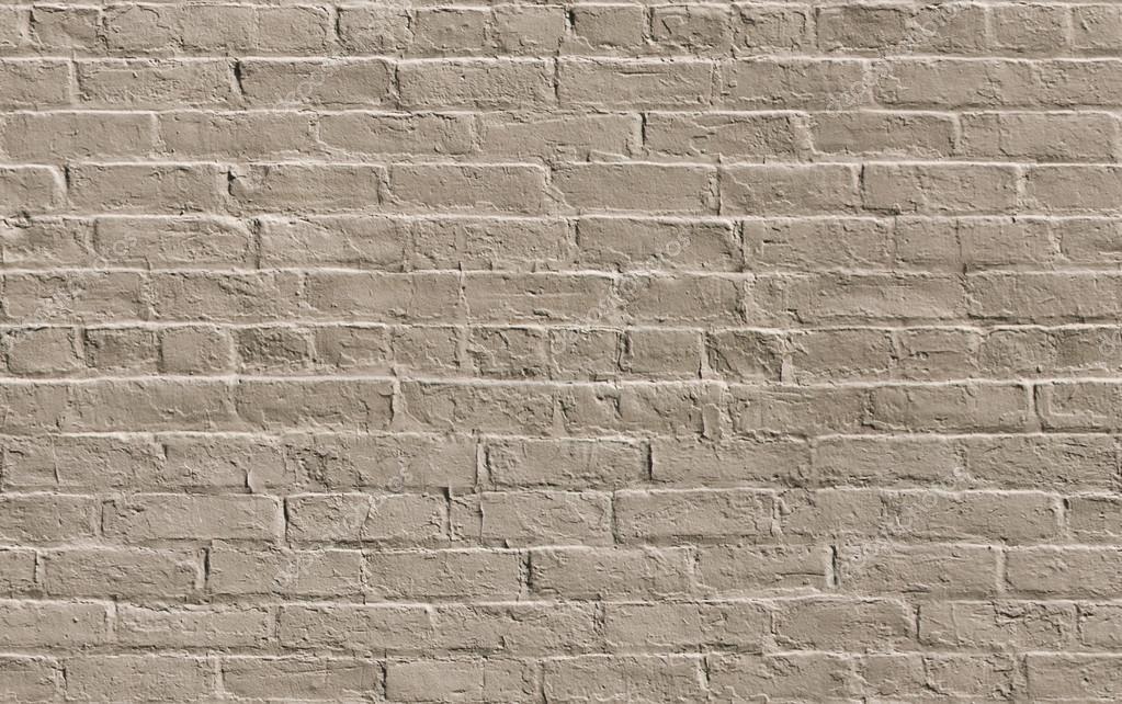 mur de brique peinte beige parfaitement tiled photo 29737111. Black Bedroom Furniture Sets. Home Design Ideas