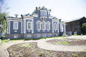 Manor Decembrist Trubeckogo in Irkutsk. Construction of the nineteenth century — Stock Photo
