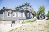 Manor Decembrist Trubeckogo in Irkutsk. Construction of the nineteenth century — Stock Photo