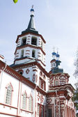 Old church of the eighteenth century in Irkutsk — 图库照片