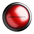 Word on the button - Foto Stock