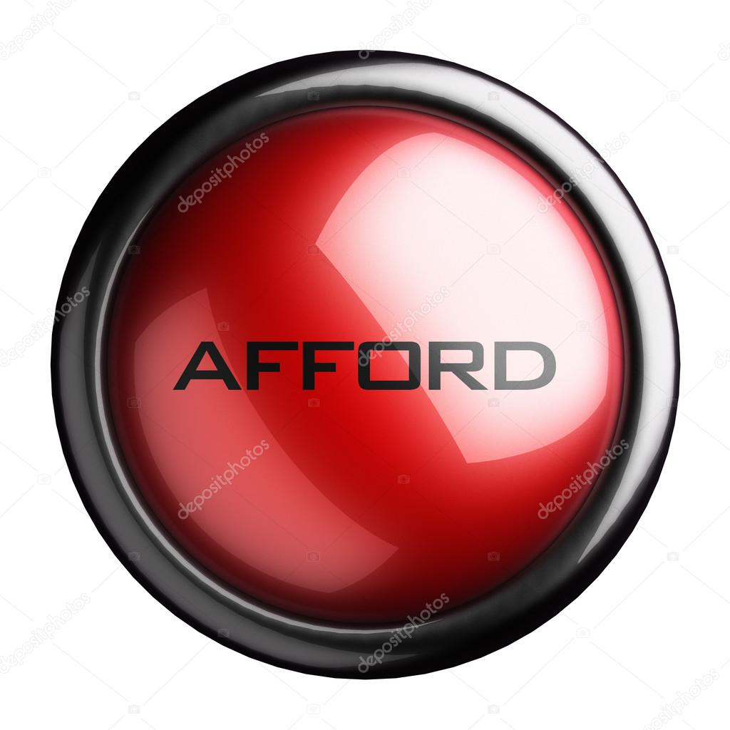 Word on the button — Stock Photo #13475622