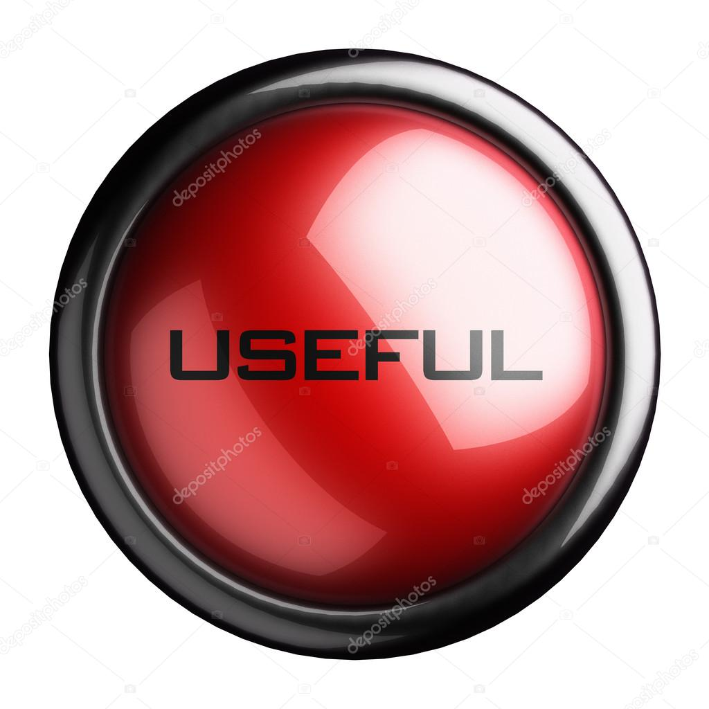 Word on the button — Stock Photo #13515636