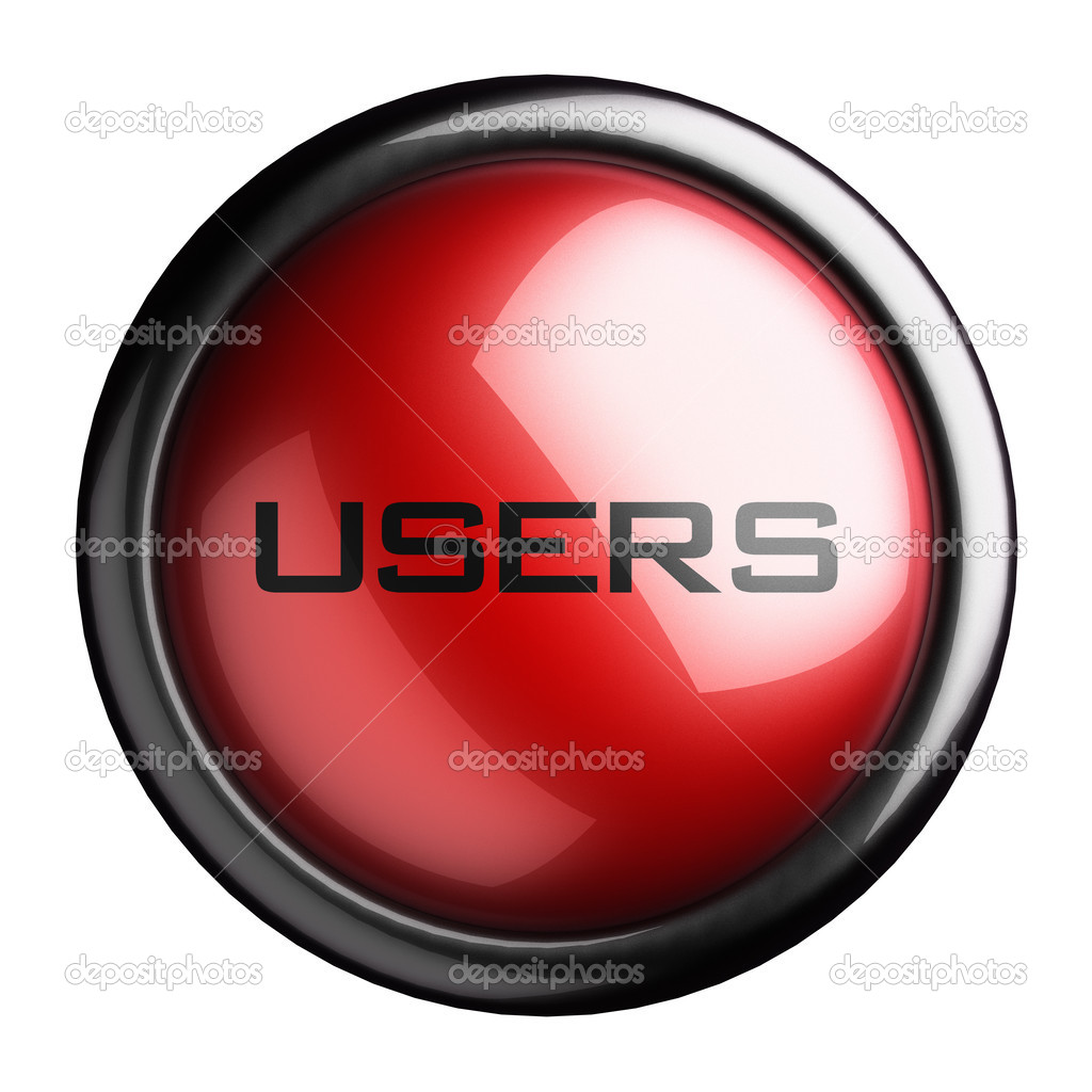 Word on the button — Stock Photo #13515638