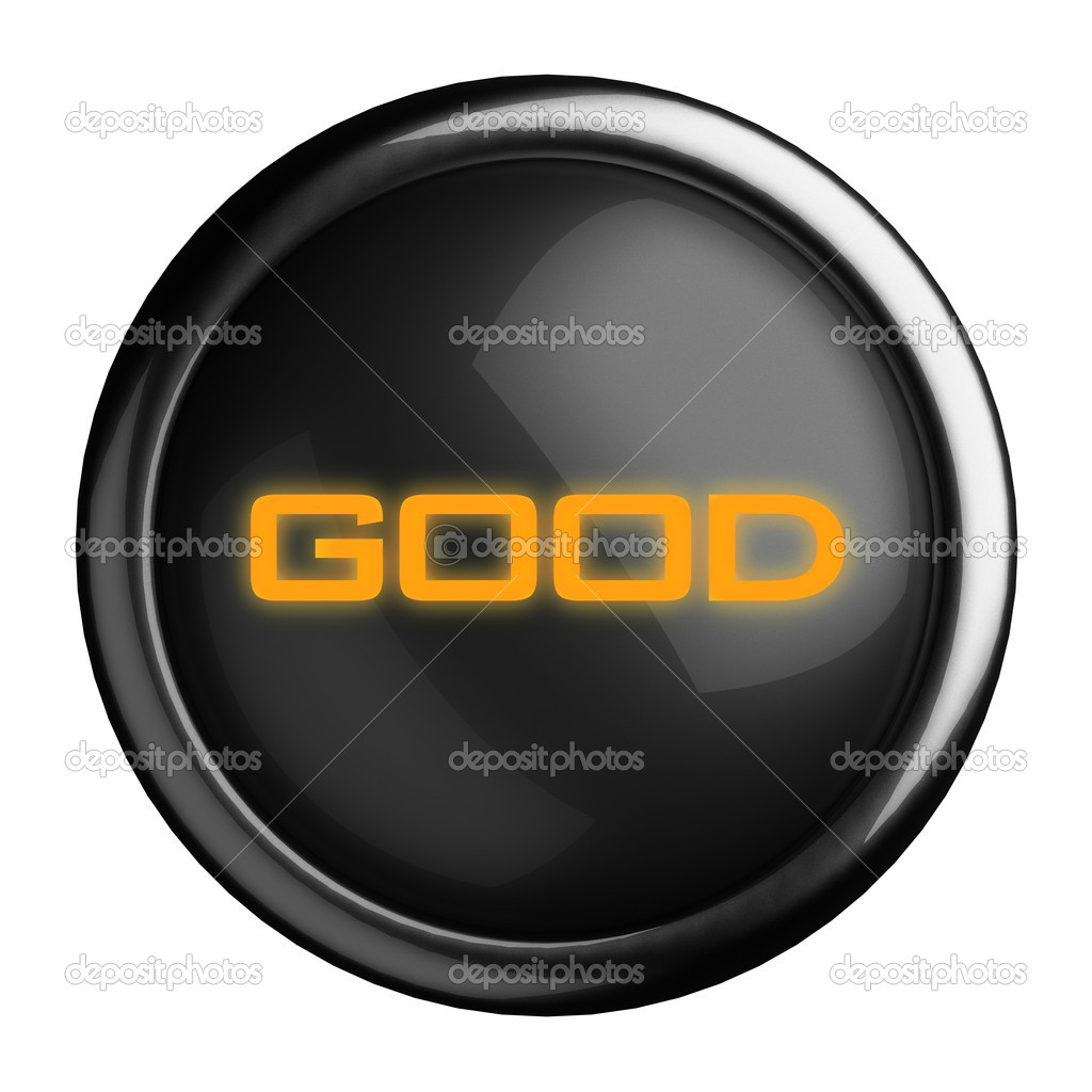 Word on black button — Stock Photo #13564649