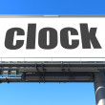 Word on billboard — Stock Photo #24287401