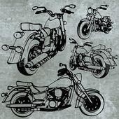 Motorbike made in vector — Stock Vector
