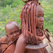 Himba woman with baby — Stock Photo #12657117