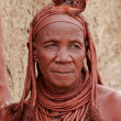 Himba woman, Namibia - Stock Photo
