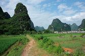 сельских районах китая — Стоковое фото