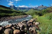 Pohoří drakensberg — Stock fotografie