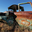 Stock Photo: Rusty old pickup truck