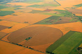 Cultivated farmland — Stock Photo